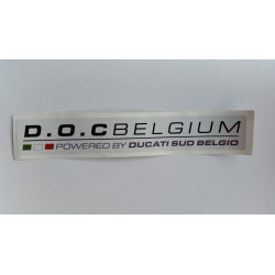 "D.O.C BELGIUM ""POWERED BY PASSION 2014"" (220 mm)"